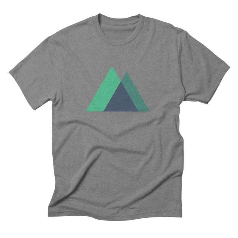 Nuxt Logo Men's Triblend T-Shirt by The Nuxt Shop