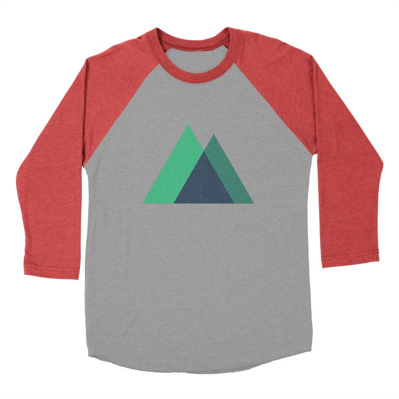 Nuxt Logo Women's Baseball Triblend Longsleeve T-Shirt by The Nuxt Shop