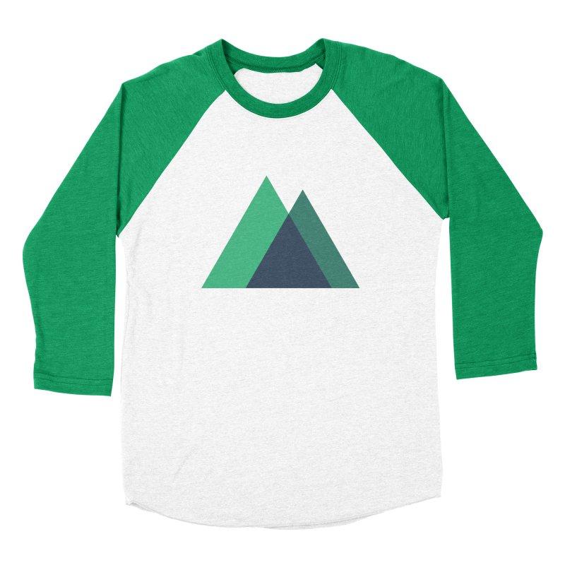 Nuxt Logo Men's Baseball Triblend Longsleeve T-Shirt by The Nuxt Shop
