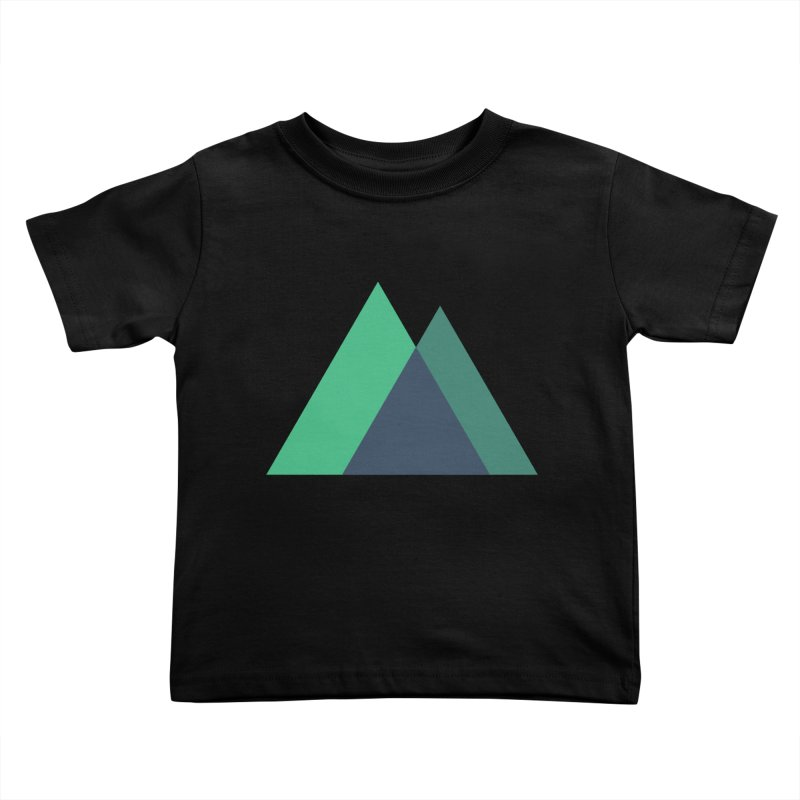 Nuxt Logo Kids Toddler T-Shirt by The Nuxt Shop