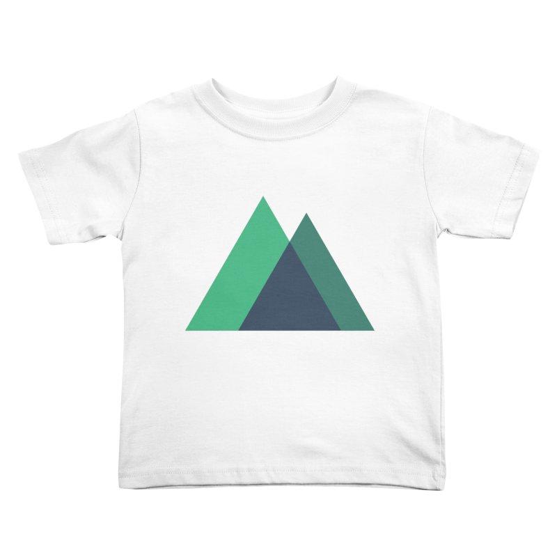 Nuxt Logo Kids Toddler T-Shirt by The Nuxt Shop