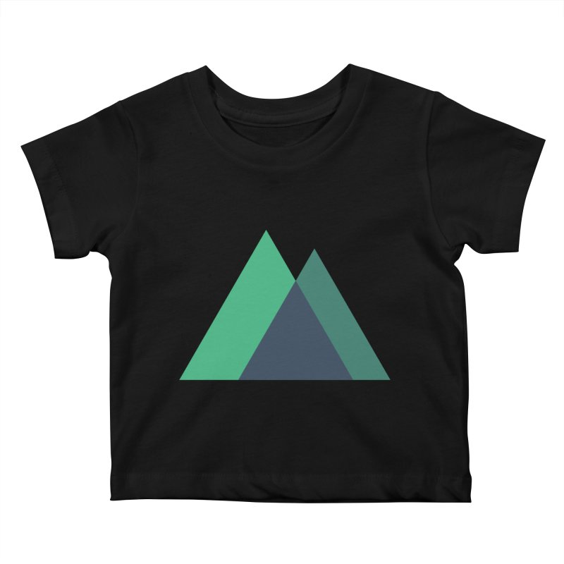 Nuxt Logo Kids Baby T-Shirt by The Nuxt Shop