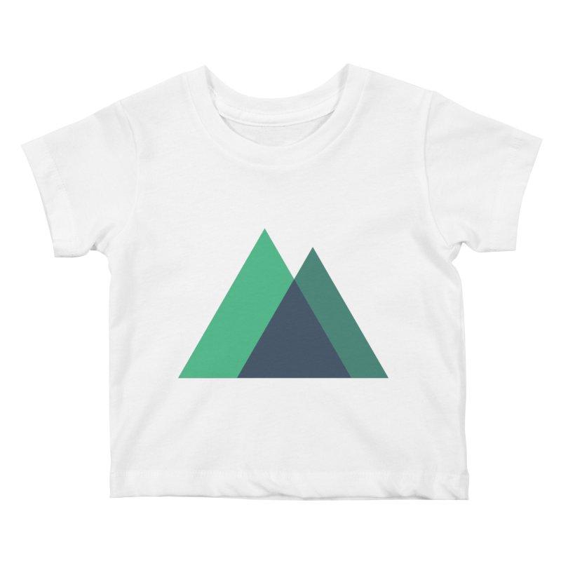 Nuxt Logo Kids Baby T-Shirt by The Nuxt Shop