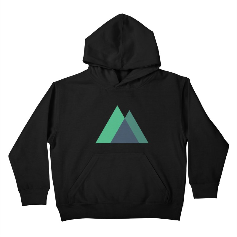 Nuxt Logo Kids Pullover Hoody by The Nuxt Shop