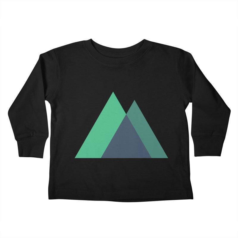 Nuxt Logo Kids Toddler Longsleeve T-Shirt by The Nuxt Shop