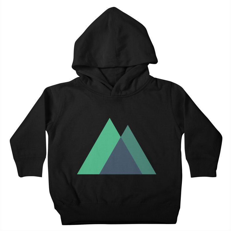 Nuxt Logo Kids Toddler Pullover Hoody by The Nuxt Shop