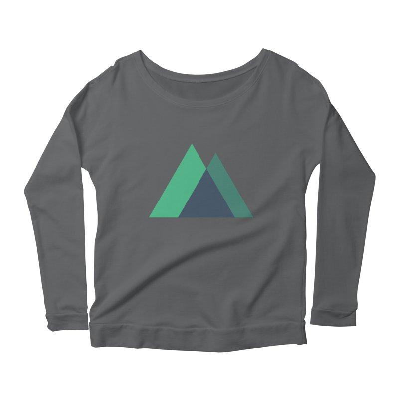 Nuxt Logo Women's Longsleeve T-Shirt by The Nuxt Shop