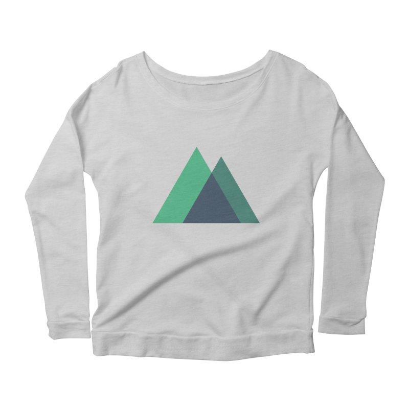 Nuxt Logo Women's Scoop Neck Longsleeve T-Shirt by The Nuxt Shop