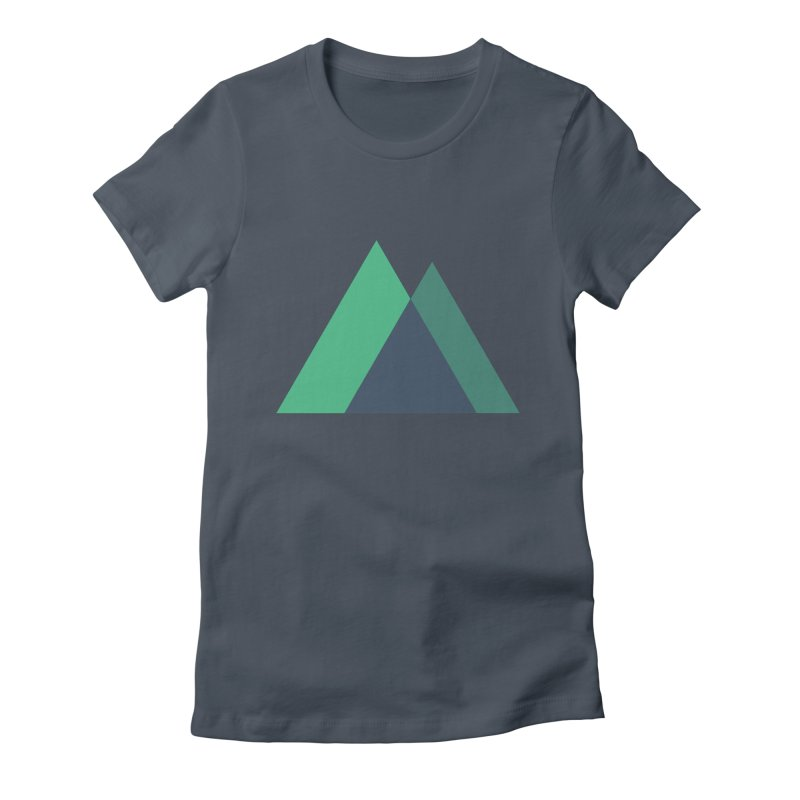 Nuxt Logo Women's Fitted T-Shirt by The Nuxt Shop
