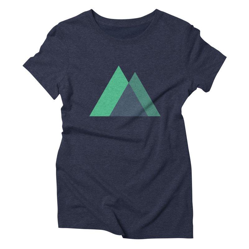 Nuxt Logo Women's Triblend T-Shirt by The Nuxt Shop