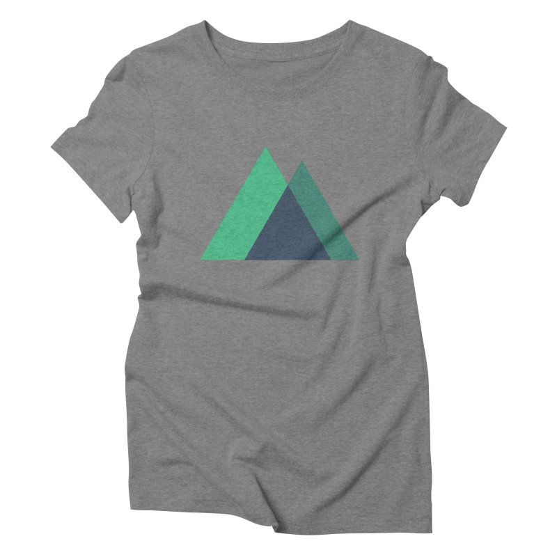 Nuxt Logo Women's Triblend T-Shirt by The Nuxt Shop