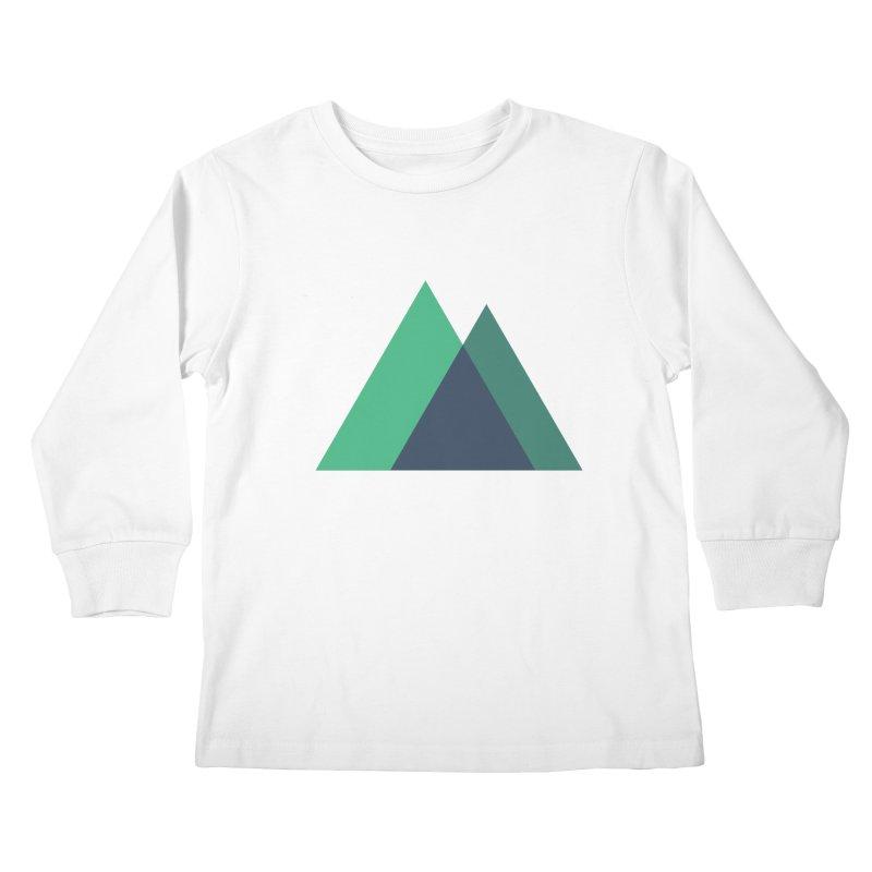 Nuxt Logo Kids Longsleeve T-Shirt by The Nuxt Shop