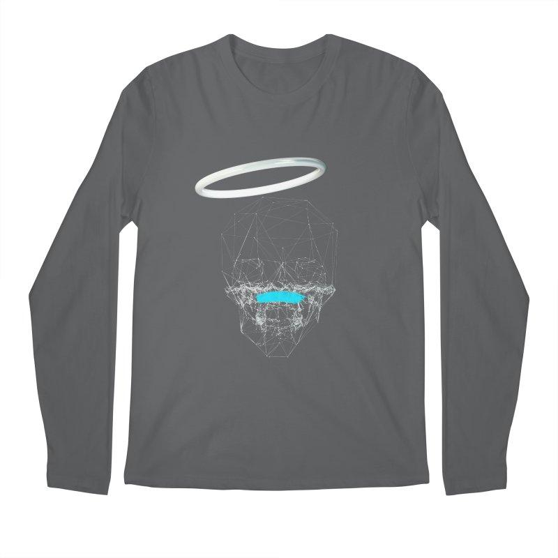 80's Style Saint Men's Regular Longsleeve T-Shirt by nvil's Artist Shop
