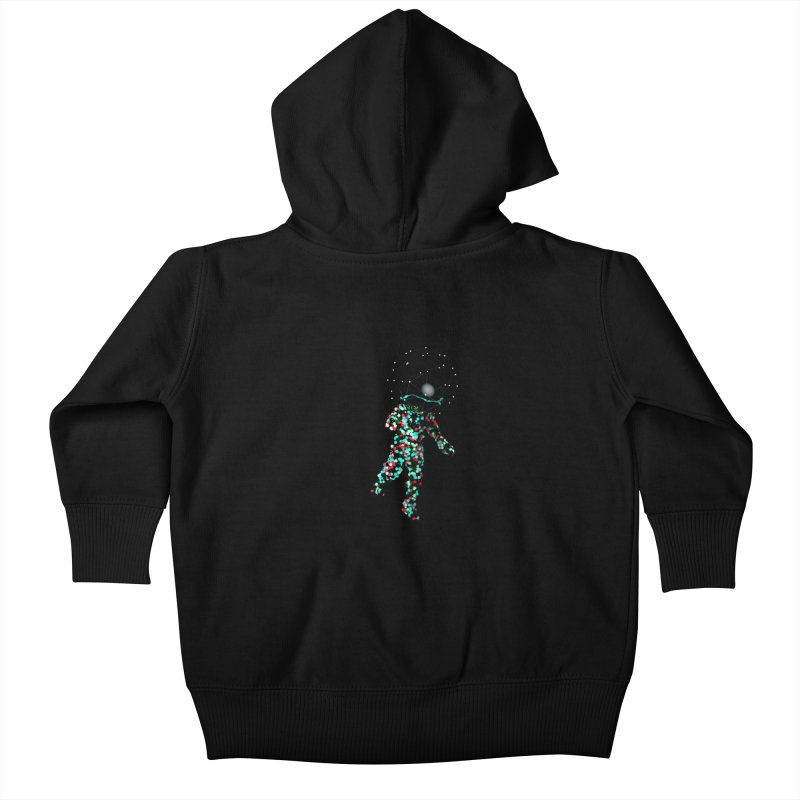 Space Balls Kids Baby Zip-Up Hoody by nvil's Artist Shop