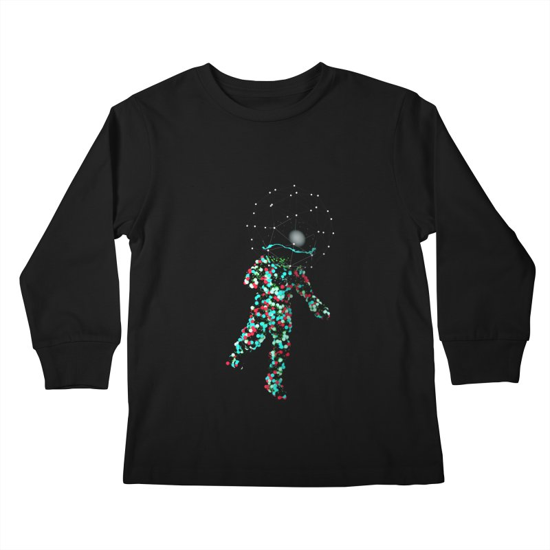 Space Balls Kids Longsleeve T-Shirt by nvil's Artist Shop