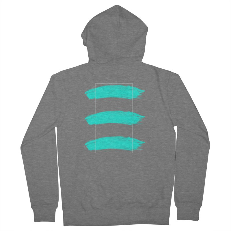 Painted Lines Women's Zip-Up Hoody by nvil's Artist Shop
