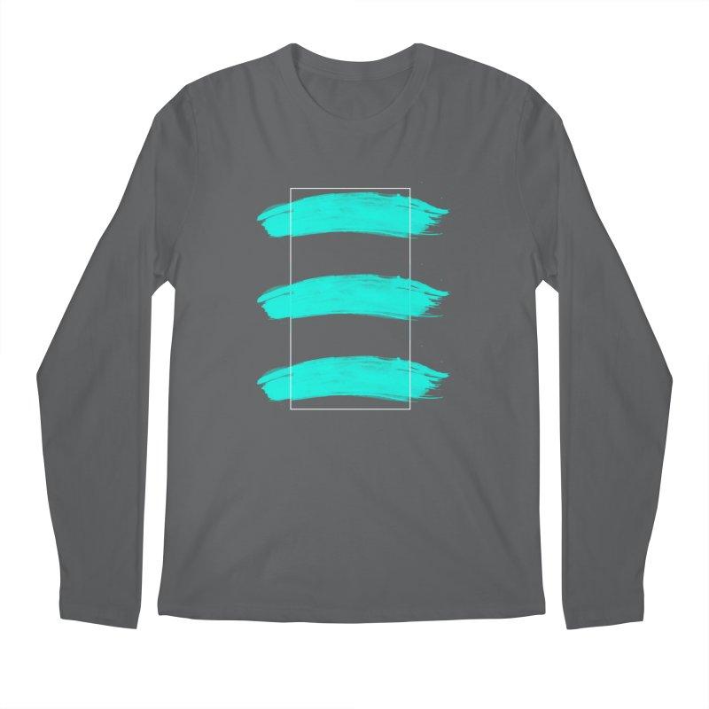 Painted Lines Men's Regular Longsleeve T-Shirt by nvil's Artist Shop