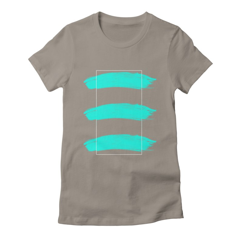 Painted Lines Women's T-Shirt by nvil's Artist Shop