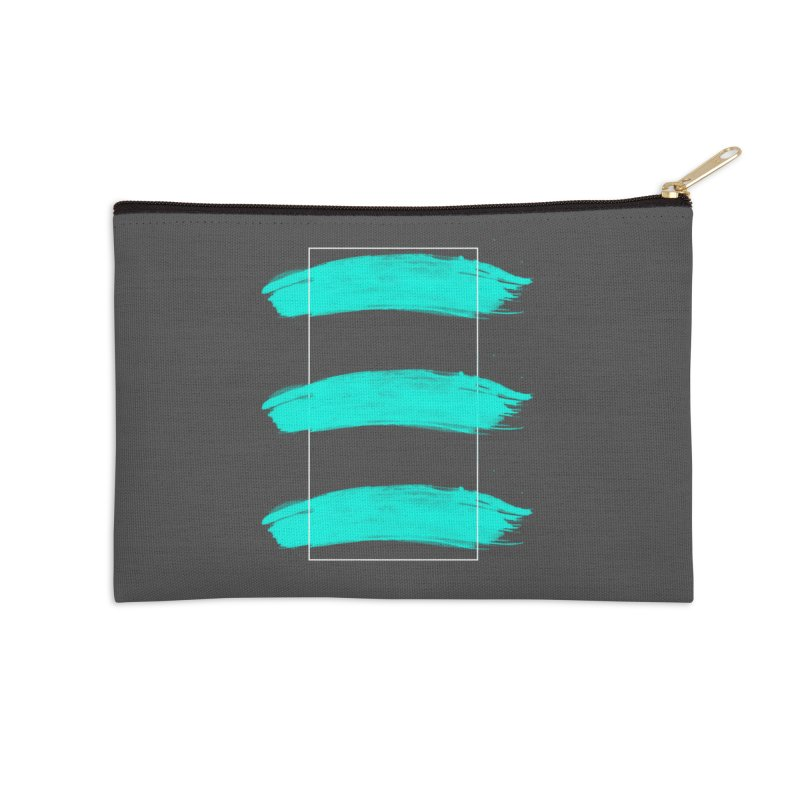 Painted Lines Accessories Zip Pouch by nvil's Artist Shop