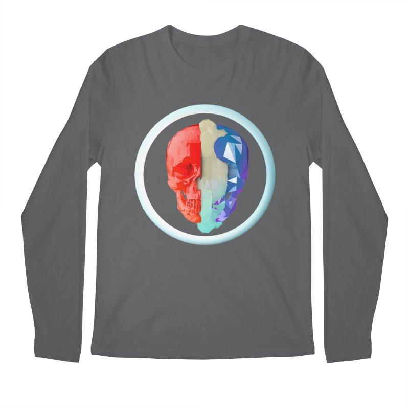 Split Men's Regular Longsleeve T-Shirt by nvil's Artist Shop