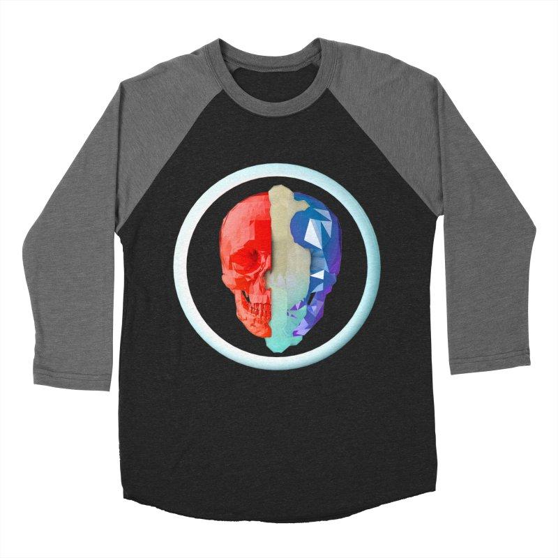 Split Women's Baseball Triblend Longsleeve T-Shirt by nvil's Artist Shop