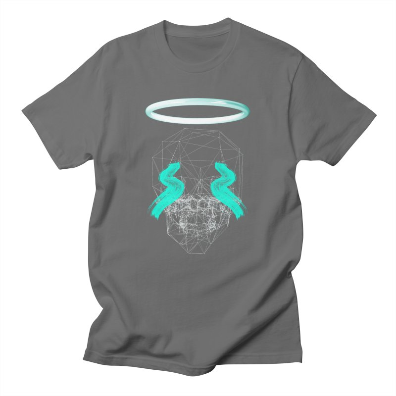 Blurry eyes saint Men's T-Shirt by nvil's Artist Shop