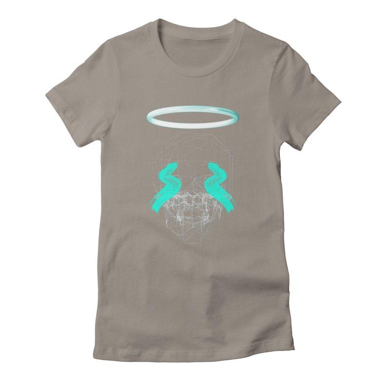 Blurry eyes saint Women's T-Shirt by nvil's Artist Shop