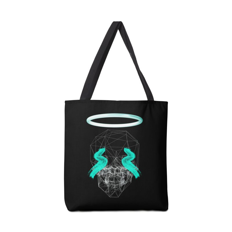 Blurry eyes saint Accessories Bag by nvil's Artist Shop