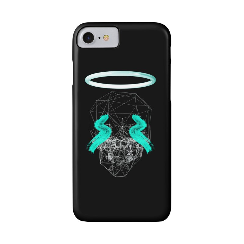 Blurry eyes saint Accessories Phone Case by nvil's Artist Shop