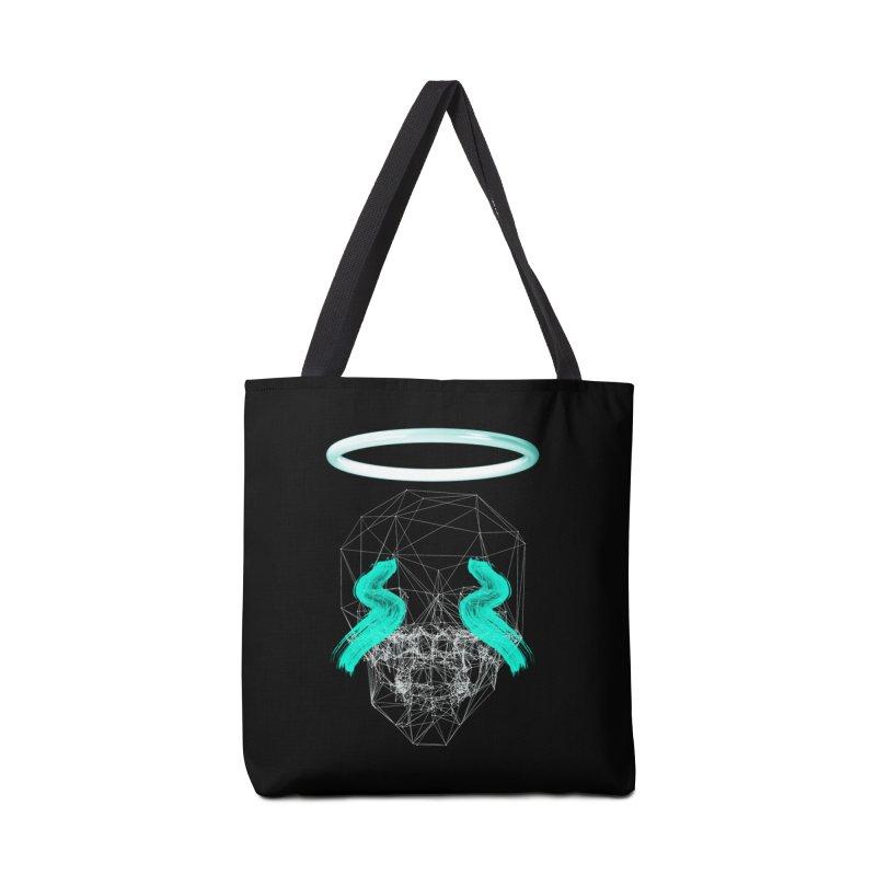 Blurry eyes saint Accessories Bag by nvil's Artist Shop