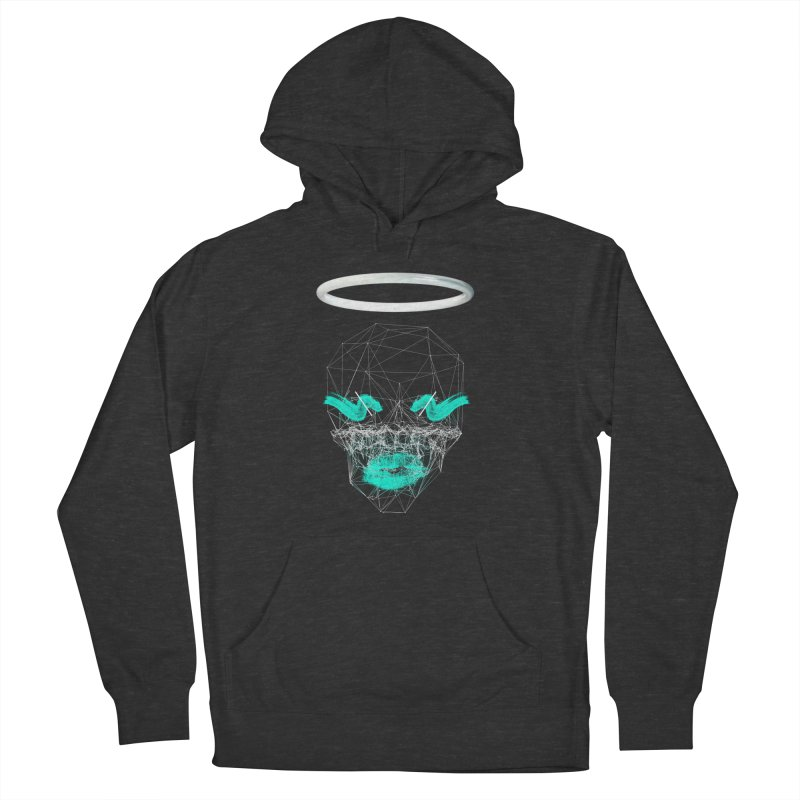 Deadly Lips Women's French Terry Pullover Hoody by nvil's Artist Shop