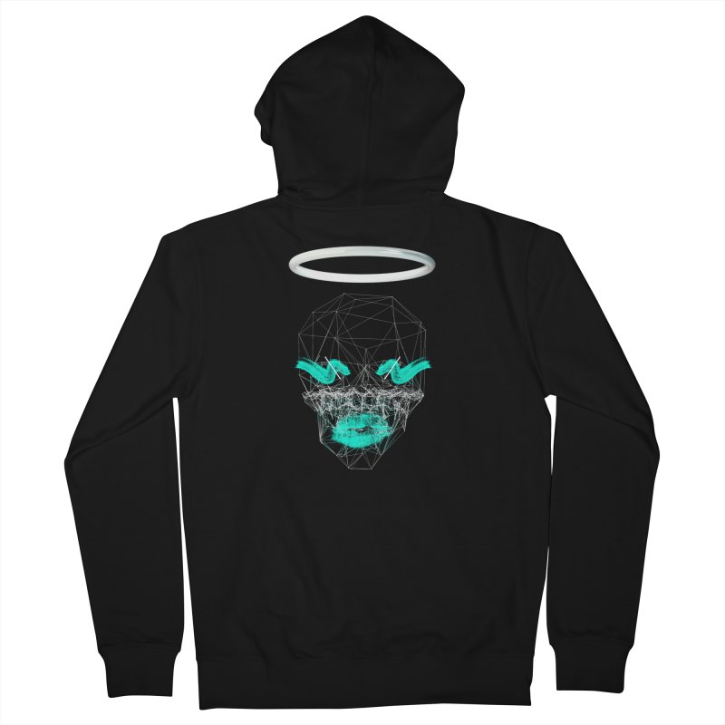 Deadly Lips Men's Zip-Up Hoody by nvil's Artist Shop