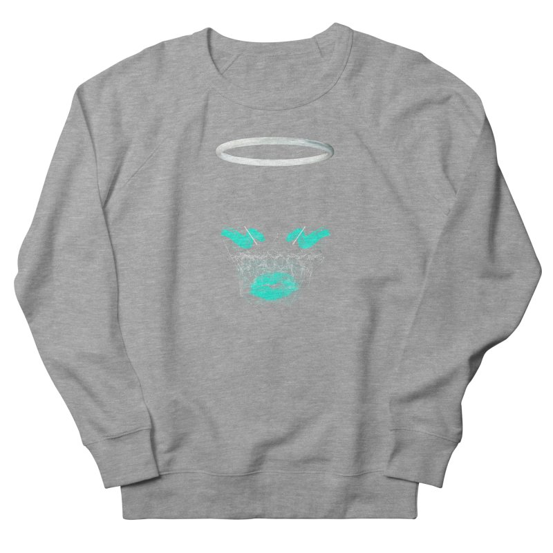 Deadly Lips Women's French Terry Sweatshirt by nvil's Artist Shop
