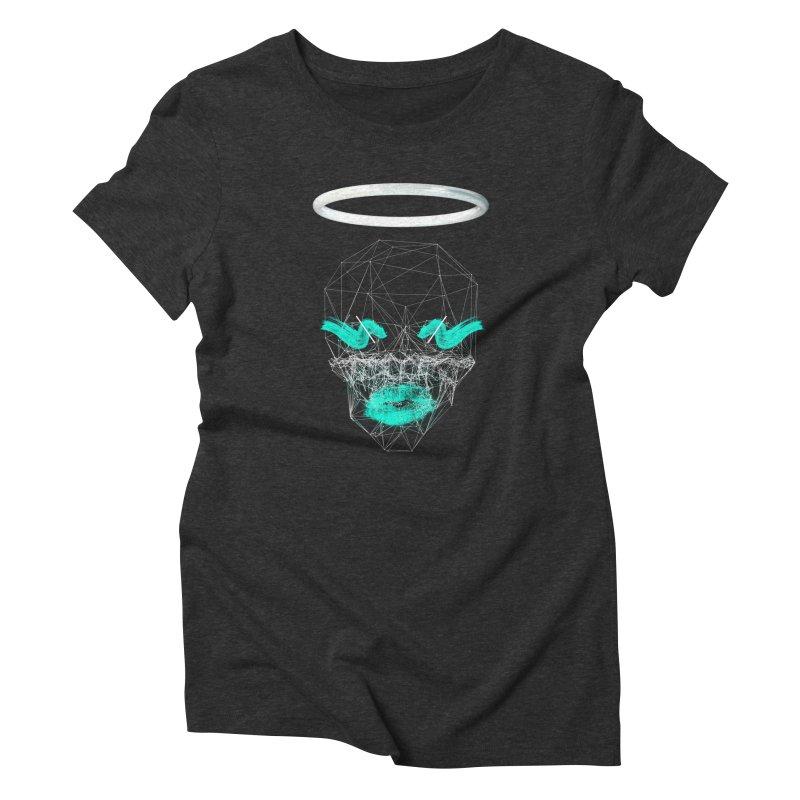 Deadly Lips Women's T-Shirt by nvil's Artist Shop