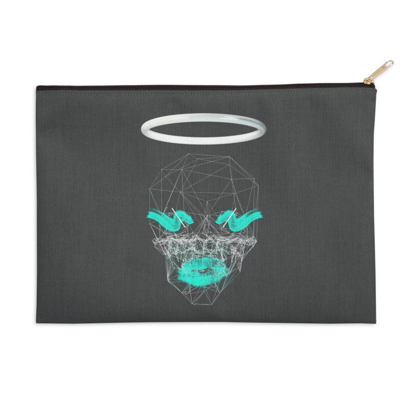 Deadly Lips Accessories Zip Pouch by nvil's Artist Shop