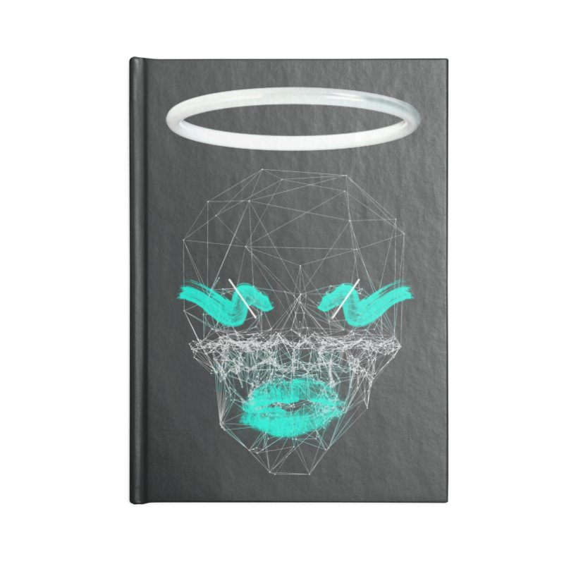 Deadly Lips Accessories Lined Journal Notebook by nvil's Artist Shop