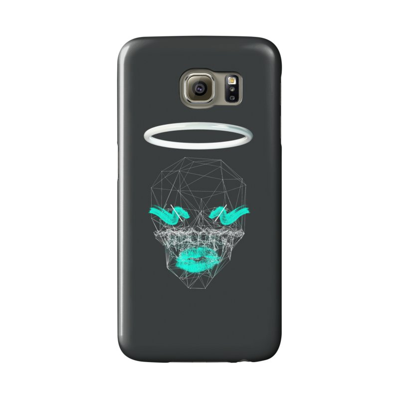Deadly Lips Accessories Phone Case by nvil's Artist Shop