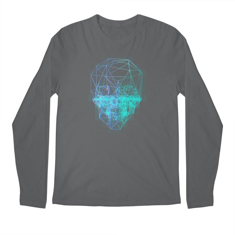 Death in 3D Men's Longsleeve T-Shirt by nvil's Artist Shop