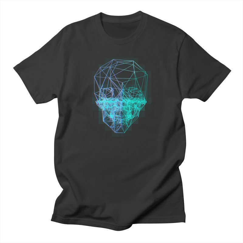Death in 3D Men's T-Shirt by nvil's Artist Shop