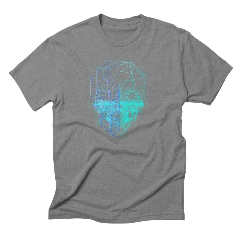 Death in 3D Men's T-Shirt by nvil's Artist Shop