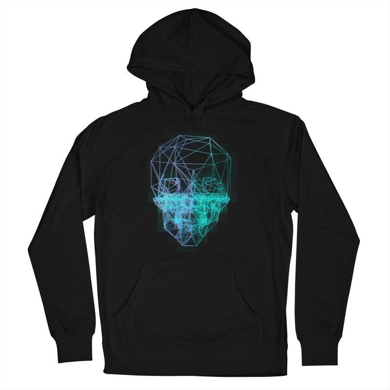 Death in 3D Women's French Terry Pullover Hoody by nvil's Artist Shop