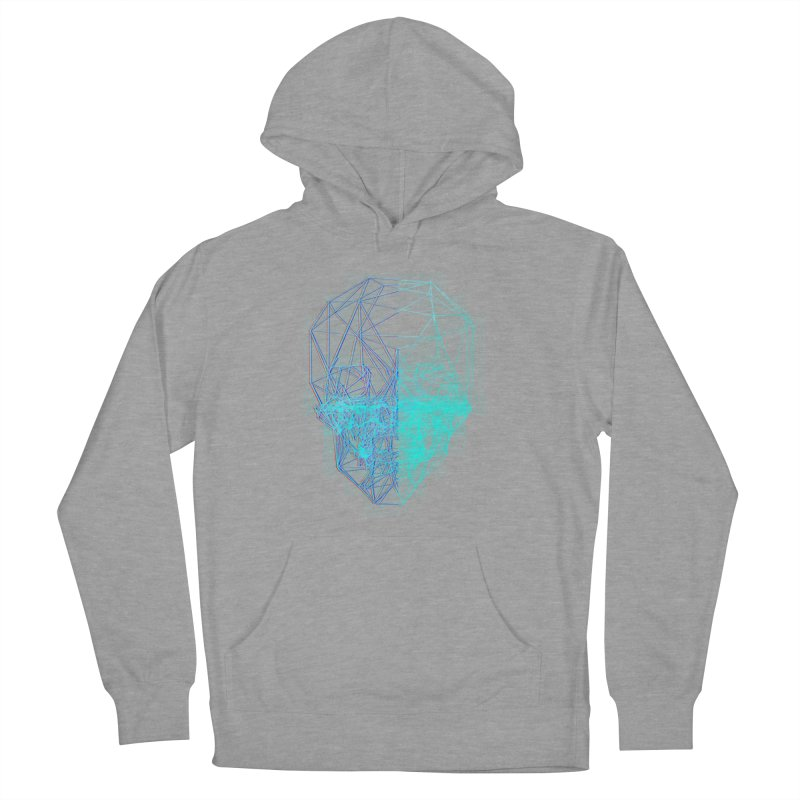 Death in 3D Men's French Terry Pullover Hoody by nvil's Artist Shop
