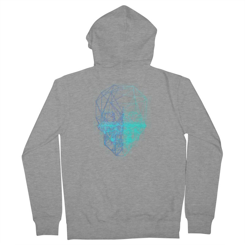 Death in 3D Women's French Terry Zip-Up Hoody by nvil's Artist Shop