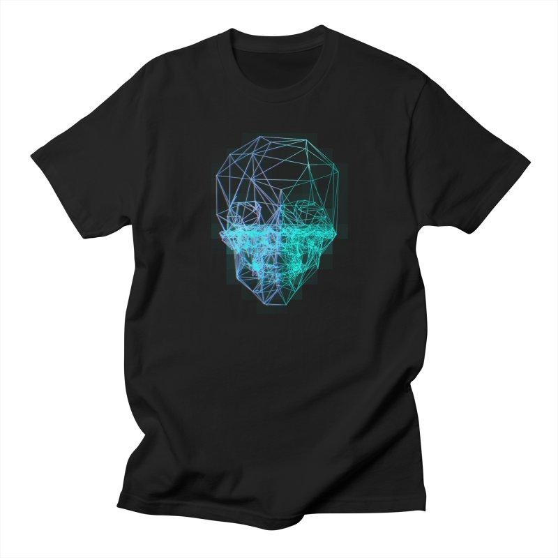 Death in 3D Women's Regular Unisex T-Shirt by nvil's Artist Shop