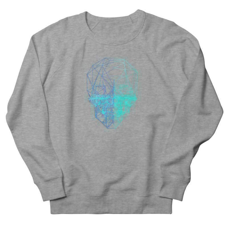 Death in 3D Women's French Terry Sweatshirt by nvil's Artist Shop