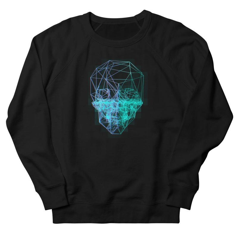 Death in 3D Men's Sweatshirt by nvil's Artist Shop