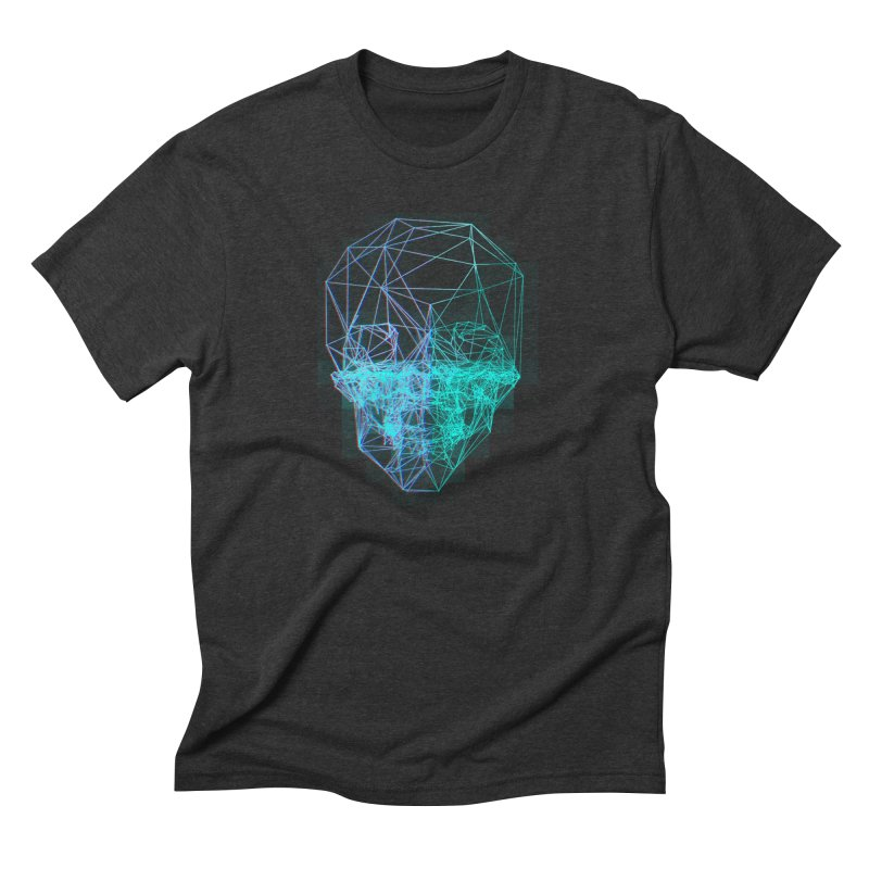 Death in 3D Men's Triblend T-Shirt by nvil's Artist Shop