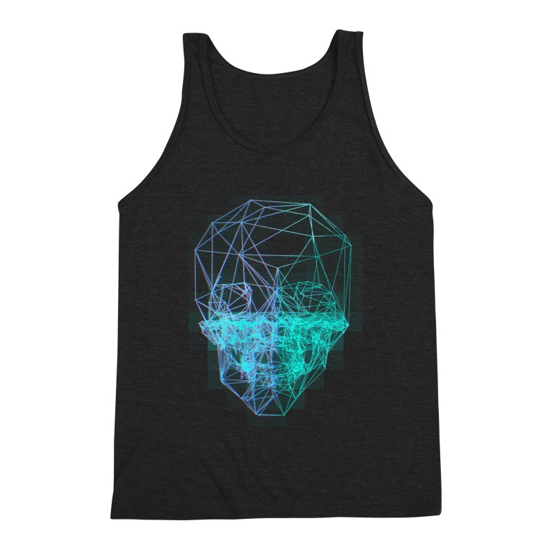 Death in 3D Men's Tank by nvil's Artist Shop