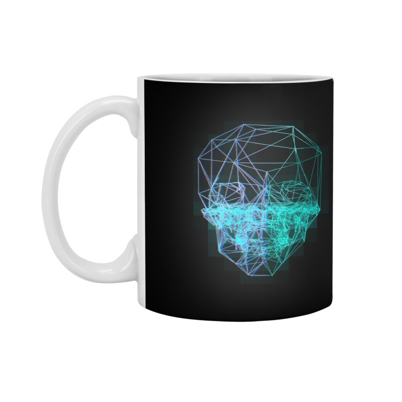 Death in 3D Accessories Mug by nvil's Artist Shop