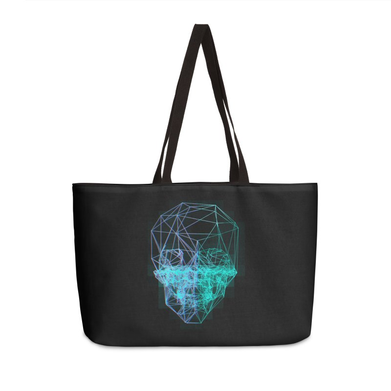 Death in 3D Accessories Bag by nvil's Artist Shop